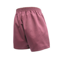 Maroon Cotton Shorts