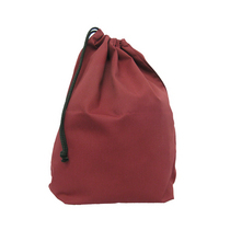 Small Maroon Shoe Bag