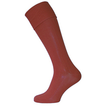 Maroon Football Socks