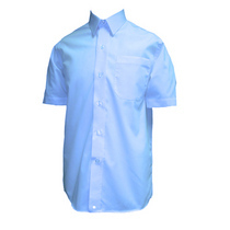 Boys Blue Short Sleeve Shirt (2 Pack)