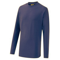 Navy Base Layer Top