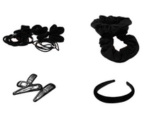 Black Hair Accessories