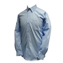 Boys Blue Long Sleeve Shirt (2 Pack)