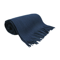 Navy Knitted School Scarf