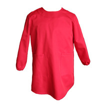 Red Painting Smock