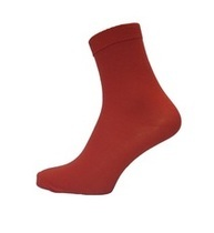 Red Ankle Sock (2 Pack)