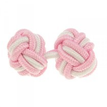 The Head Master's Elastic Knot Cufflinks