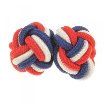 West Acre Elastic Knot Cufflinks
