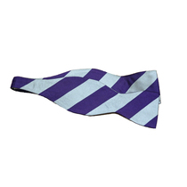 Bradbys Silk Triple Blood House Bow Tie