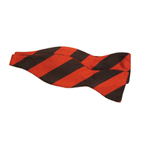 Druries Silk Triple Blood House Bow Tie