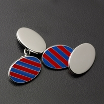 The Grove House Silver Cufflinks