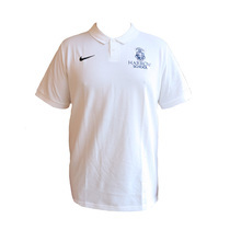Harrow Nike White Polo