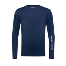 Bassett House Navy Base Layer Top