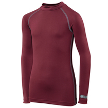 Maroon Base Layer Top