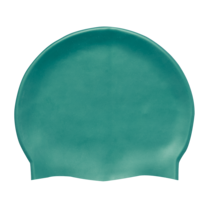 Green Silicon Swimming Hat