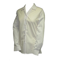 Girls White Revere Long Sleeve Blouse (2 Pack)
