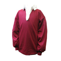 Maroon/Sky Rugby Shirt