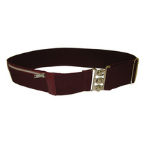 Maroon Elasticated Purse Belt