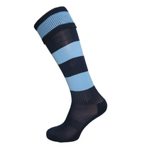 Navy/Sky Football Socks