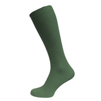 Bottle Green Knee High Sock (3 Pack)