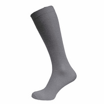 Grey Knee High Sock (3 Pack)