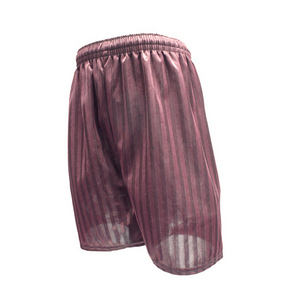 Maroon Shadow Shorts