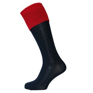 photo of Navy/Red Football Socks