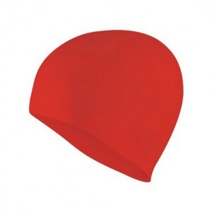 Red Swim Cap