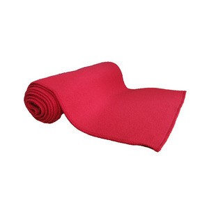 Red Fleece Scarf