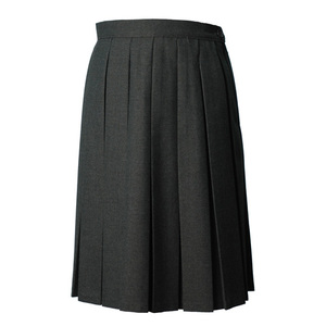 photo of Grey Box Pleat Skirt