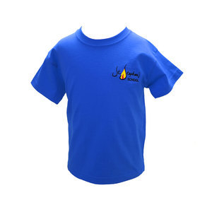 St Stephens Blue T Shirt