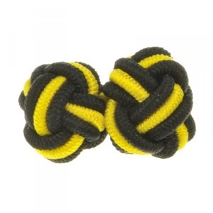 photo of The Knoll Elastic Knot Cufflinks