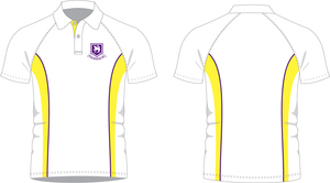 St Johns Prep PE Polo Yellow