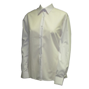 photo of Girls White Long Sleeve Blouse (2 Pack)