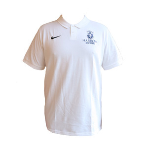 Harrow Nike White Polshirt