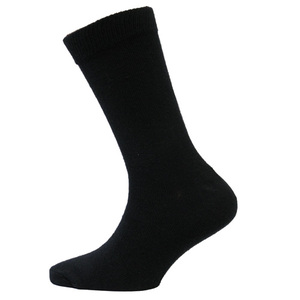 Black Wool Rich Socks