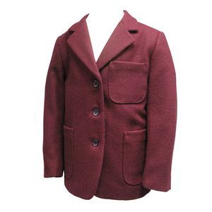 photo of Maroon Wool Blazer