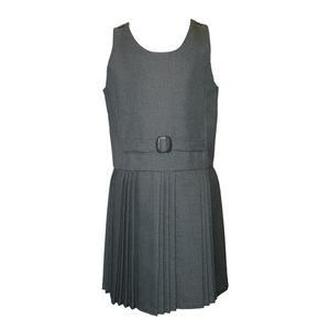 Grey Falsebelt Pinafore