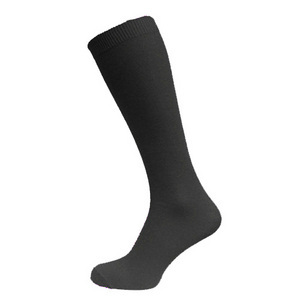 Black Knee High Sock