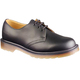 DM Black Smooth 3 Eyelet Shoe > Black