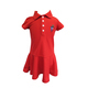 KK Girls Polo Dress > Red