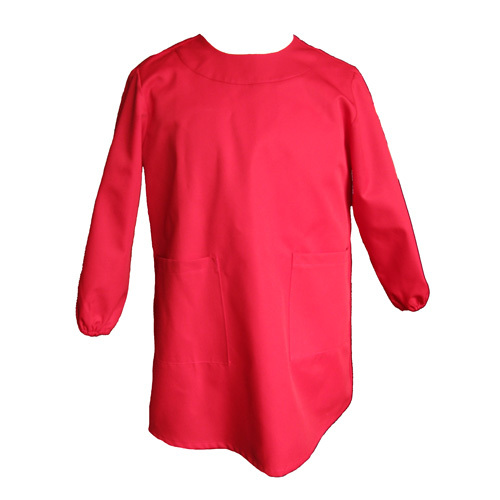 Red Painting Smock From The Schoolwear Specialists